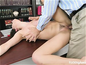 buxomy Ashley Adams Gets poked by the educator