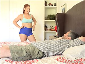 Edyn Blair fucked By immense ebony shaft husband witnesses