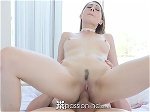 well-lubed Ex christian college educator Nina Skye pounded