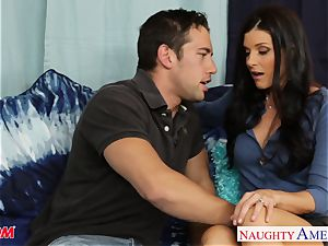 steamy mummy India Summer gets cooter drilled and plowed