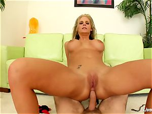 LiveGonzo Phoenix & Riley buttfuck Wifes bang-out soiree