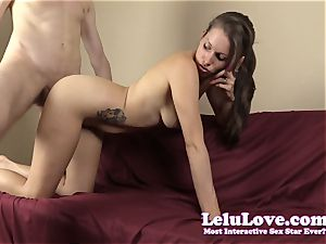 She sucks and romps while on the phone with her cuckold