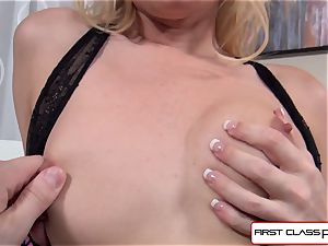 Aaliyah love deep throats and bang a huge penis in point of view fashion