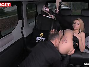 taxi Driver blows a load a few Times In spectacular Czech coochie