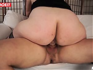 LETSDOEIT - Mature Italian mummy plowed hard By nubile man