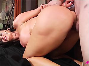 Nikki Benz getting rock hard ass-fuck orgy