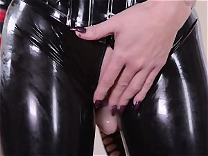 rigorous housewife with large man rod plumbs her subjugated spandex Lucy