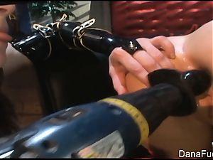 Dana DeArmond pulverizes Naudia Nyce's rectum