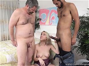 Cadence Lux Makes beaver hubby tongues boys jizz