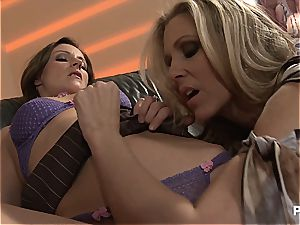 Julia dishing out climaxes