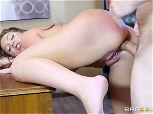 Maddy OReilly bent over and porked