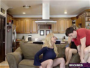 MomsTeachSex aunt-in-law Brandi enjoy Helps teenagers shag