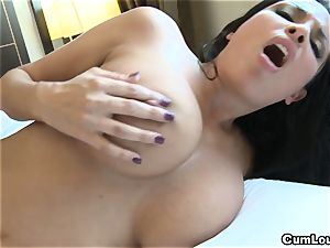 Anissa Kate showing her giant innate knockers in Public