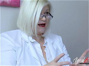 AgedLovE Lacey Starr huge-boobed blond Mature xxx