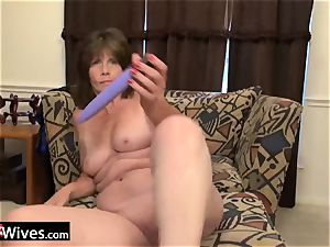 USAWiveS Mature Jade ass fucking plaything getting off