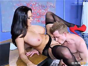 Ava Addams screwed in her raw snatch