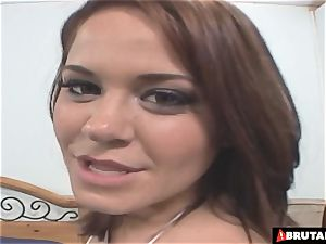 BrutalClips multiracial three-way fiercely