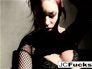 An artful look into how Jayden Cole makes herself jism
