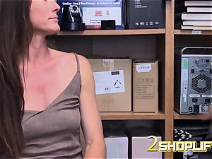 red-hot cougar Sofie is ruined by insatiable officers loaded man meat