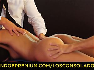 LOS CONSOLADORES - perfect blondies 69 in group fucky-fucky