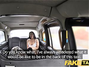 fake taxi marvelous milf Candi Kayne plumbed hard