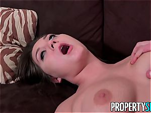 PropertySex Bratty Jojo smooch ravages Real Estate Agent