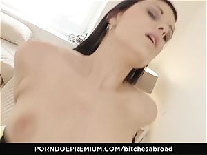 supersluts ABROAD - Foreign doll jizm decorated in super hot bang