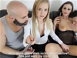 LOS CONSOLADORES - super-steamy swinger fourway with steamy babes