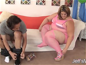 provocative enormous beauty Erin Green romped by a lengthy lollipop.