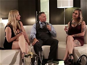 Takers pt 4 - Sarah Vandella and Kleio Valentien