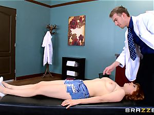 Patient Penny Pax plowed by humungous dicked medic