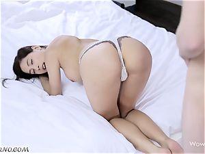european porno with Czech college girl Paula bashful