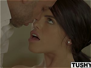 TUSHY Lonely wifey Adriana Chechik Gets ass fucking massage