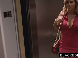BLACKEDRAW Jessa Rhodes enjoys Late Night bbc