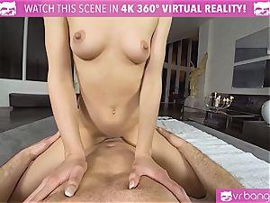 VRBangers.com lithe Jill Will spread Her yummy muff