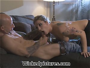 Rampant role play for Bailey Blue and a super-fucking-hot man