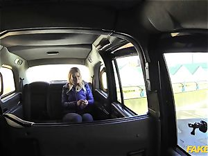 fake taxi blondie gets backseat discount