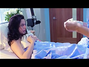 GIRLCORE lezzie Nurses Give nubile Patient Vaginal exam