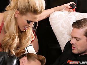 poon striking the mischievous sex slave maid Britney Amber