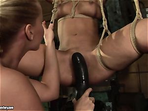 Kathia Nobili enjoy ravaging the steamy dame with fuck stick