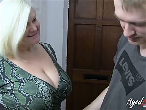 AgedLovE big-chested Mature Lacey Starr xxx lover