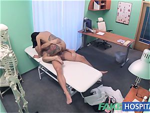 FakeHospital crazy Russian babe unwraps and pounds