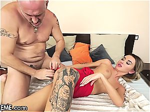 Ballerina Anna Thorne gets a dose of the grandfather prick