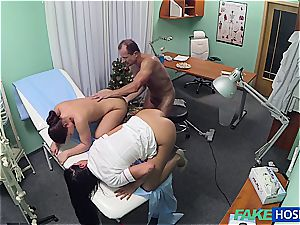naughty medic penetrating jaw-dropping nurse and cleaning woman